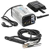 IPOTOOLS MMA-160R Elektroden Schweißgerät - IGBT Inverter Schweissgerät MMA/E-Hand mit 160 Amper/Digitale LCD Anzeige / 230V / Anti-Stick/Hot-Start/Arc-Force/Schutzschild