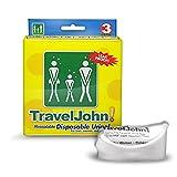 TRAVEL JOHN Wegwerf Urinal 3 Stück