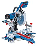 Bosch Professional Paneelsäge GCM 350-254 (1x Sägeblatt Holz, Klemmschelle, Karton, Nennaufnahme: 1.800 Watt, Schnittkapazität mit/ohne Abstandshalter: 100 x 350 mm/89 x 320 mm)