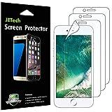 JETech Schutzfolie für Apple iPhonse SE 2020, iPhone 8 und iPhone 7, PET Displayschutzfolie, HD...