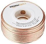 AmazonBasics Lautsprecherkabel 1,3 mm² / 16 Gauge, 30,48 m (100 Fuß)