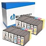 Bubprint Kompatibel Druckerpatronen als Ersatz für Canon PGI-1500XL für Maxify MB2000 MB2050 MB2100 MB2150 MB2155 MB2300 MB2350 MB2700 MB2750 MB2755 Multipack BK C M Y 10er-Pack