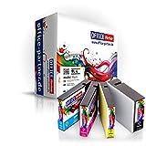 4er Multipack kompatible Druckerpatronen zu Canon PGI-2500XL Schwarz Cyan Magenta Gelb mit Chip für Canon MAXIFY iB4050 MB5050 MB5350