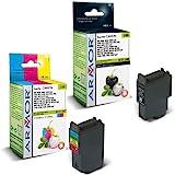 10x Patronen für Canon Multipass MP 360 (6xBk, 4xColor) Qualität von Armor Druckerpatronen kompatibel für MP360, 6x10, 5ml, 4x15ml