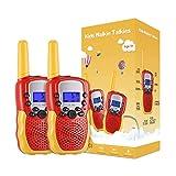 Kearui Spielzeug 4-10 Jahren für mädchen/Junge, Walkie Talkies für Kinder 8 Kanal Funkgerät mit...