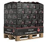 100-1000kg Palette (0,34-0,58€/kg) Kohle Briketts 10kg in der Papiertüte Top Gluthalter Kamin Ofen Brikett 960kg Palette Kohlebriketts (960)
