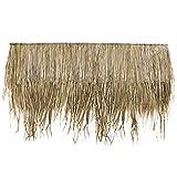 Wilai Palmdach Paneele Palmschindel Palmenblätter   100% Nachhaltiges Naturmaterial   Wetterfest Regendicht und Langlebig   Innen- und Außenbereich   145 cm x 80 cm   10 Stück Pack
