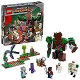 LEGO 21176 Minecraft Die Dschungel Ungeheuer Spielzeug, Set aus Minecraft Dungeons mit Actionfiguren