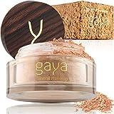 Mineral Foundation Make Up Puder – Vegane Professionelle Natürliche Full Coverage Hochdeckendes Makeup Powder für empflindliche Haut (Schattierung MF5)