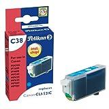 Pelikan C38 Druckerpatrone (ersetzt Canon CLI-521C) cyan
