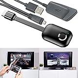 TVPeCee HDMI Dongle: WLAN-HDMI-Stick mit Dual Band, für Miracast, AirPlay und DLNA, bis 4K (HDMI...