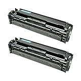 2 Toner kompatibel für Canon 731 I-Sensys LBP 7100 CN 7110 CW Series MF 8200 Series 8230 CN 8280 CW ImageClass LBP 7110 CW Lasershot LBP 7100 Series - 6271B002 - Cyan je 1400 Seiten