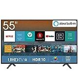 Hisense H55BE7000 138 cm (55 Zoll) Fernseher (4K Ultra HD, HDR, Triple Tuner, Smart-TV, Standard)...