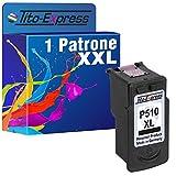 Tito-Express PlatinumSerie 1 Druckerpatrone für Canon PG-510 XL | 1x Black | je Patrone 15ml XXL-Inhalt!