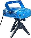 Lunartec Lichtorgel: Indoor-Laser-Projektor, Sternenmeer-Effekt, Sound-Steuerung, grün/rot (Party...