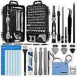 oGoDeal 127 in 1 Mini Feinmechaniker Schraubendreher Werkzeug Set und öffnungswerkzeug für iPhone,...