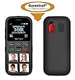 simvalley MOBILE Seniorentelefon: Senioren-Handy, Garantruf Premium, GPS-Ortung, 4...