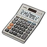 CASIO Tischrechner MS-120BM, 12-stellig, Steuerberechnung, Cost/Sell/Margin, Aluminiumfront,...