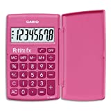 Casio LC-401LV Petite fx Grundschulrechner, pink