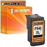 Gorilla-Ink 1 Druckerpatrone XXL remanufactured für Canon PG-545 XL Black Pixma MG2450 MG2455 MG2555 MG2900 Series MG2950