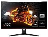 AOC Gaming C32G1 80 cm (31,5 Zoll) Curved Monitor (FHD, HDMI, 1ms Reaktionszeit, DisplayPort, 144 Hz, 1920 x 1080 Pixel, Free-Sync) schwarz