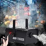 UKing Nebelmaschine, Nebelrauchmaschine 400W mit Fernbedienung,Rauchmachine für DJ-Bühnenpartys...