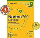 Norton 360 Standard 2021 | 1 Gerät | Antivirus | Unlimited Secure VPN & Passwort-Manager | 1 Jahr | PC/Mac/Android/iOS | Aktivierungscode per Email