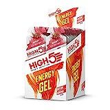 HIGH5 Energy Gel, schnell und dauerhafte Energie im leicht zu öffnenden Portionsbeutel, mit natürlichem Fruchtsaft – Multipack 20x40g (Beere)