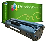 Printing Pleasure Toner kompatibel für HP Laserjet 1100 1100A 1100ASE 1100AXI 1100SE 1100XI 3200 3200M 3200SE Canon LBP-800 LBP-810 LBP-1110 LBP-1120 LBP-200 LBP-250 LBP-350 - Schwarz, hohe Kapazität