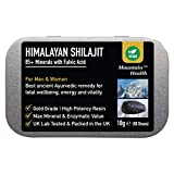 Echter Himalayajit-Shilajitharz. Handgefertigt, natürlich biologisch, vegan und glutenfrei. Spurenmineralien und hochwirksame Fulvinsäure. Im Vereinigten Königreich getestet (10 g)