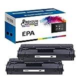 Premium Kartusche – 2 Toner – EPA (C3906) schwarz – kompatibel mit Canon LBP 460 465 660 AX 210 220 320 310 320 Pro 220 Pro 460 Series I-Sensys LBP