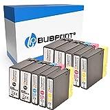 Bubprint Kompatibel Druckerpatronen als Ersatz für Canon PGI-2500XL PGI-2500 XL für Maxify iB4050 iB4150 MB5000 MB5050 MB5100 MB5150 MB5155 MB5300 MB5350 MB5400 MB5450 MB5455 BK/C/M/Y 10er-Pack