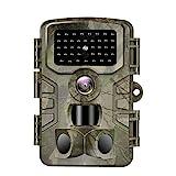 VANBAR Wildkamera 20MP 1080P Full HD Wildkamera mit Bewegungsmelder Nachtsicht IP66 Wasserdichter...