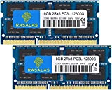 Rasalas DDR3 16GB Kit (2x8GB) DDR3 1600MHz PC3L-12800 16GB DDR3 Non ECC Unbuffered 1.35V CL11 2Rx8...