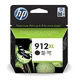 HP 912XL (3YL84AE) Schwarz Original Druckerpatrone mit hoher Reichweite für HP OfficeJet Pro 8010, 8012, 8014, 8015, HP OfficeJet Pro 8020, 8022, 8023, 8024, 8025