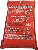 Löschdecke 1x1m DIN EN1869