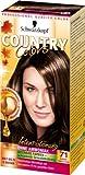 SCHWARZKOPF COUNTRY COLORS Intensiv-Tönung, Haarfarbe 71 Kakao Dunkelgoldbraun, Stufe 2, 3er Pack (3 x 123 ml)