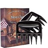 BBQ Fleischkrallen 2 Stück,Langlebig Grillbesteck zum Greifen, für Pulled Pork, Beef,Zerkleinern und Reißen von Fleisch und Hühnchen