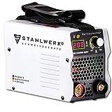 STAHLWERK ARC 200 MD IGBT - Schweißgerät DC MMA/E-Hand Welder mit echten 200 Ampere sehr kompakt, weiß, 7 Jahre Herstellergarantie*