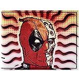 Deadpool Wade Halbmaske Rot Portemonnaie Geldbörse