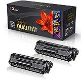 2x Kompatible Tonerkartuschen für Canon Fax L150 Fax L170 3500B002 728 Schwarz Black - Office Serie