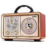 PRUNUS J-110BT FM AM(MW) SW Tragbares Bluetooth AUX MP3 Radio. Mit klassischem...
