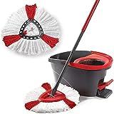 Langlebig Waschbar Soft Spin Mop Nachfüllpackung Home Mop Head Reinigungswerkzeuge