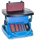 Güde 38353 GSBSM 450 Spindel-Bandschleifmaschine, 230 V, Blau