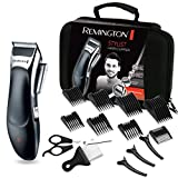 Remington Haarschneidemaschinen-Set HC363C (selbstschärfende keramikbeschichtete Klingen, 8 Kammaufsätze + Profi-Koffer & weiteres Zubehör, Netz-/Akkubetrieb, Lithium) Haarschneider