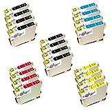 *TiToPaten®* 20 Druckerpatronen kompatibel für Epson Epson Stylus Office BX305 F FW FW Plus SX230 SX420 W SX425 Epson Stylus S22 SX125 SX130 Epson Stylus SX430 W SX435 W SX438 W SX440 W SX445 W Epson Stylus SX235 SX235 W