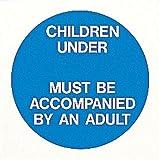 Neue Os Swim Kinder unter bestimmten Alter 'Swimming Pool' Warnschild-Aufkleber