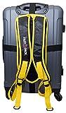 FastBpack Reiseadapter, der den Koffer in einen Rucksack umwandelt. Travel Gear Suitcase to Backpack Converter (gelb-gelb)