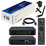 MAG 322 Original Infomir / HB-DIGITAL IPTV SET TOP BOX Multimedia Player Internet TV IP Receiver (HEVC H.256) Nachfolger von MAG 254 + WLAN WiFi USB Stick von HB-Digital mit Antenne + HDMI Kabel
