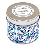 Clovelly Soap Co. Handgemachte natürliche Duftkerze Limette Aromatherapie Soja Wachs Vegan Dosenkerze
